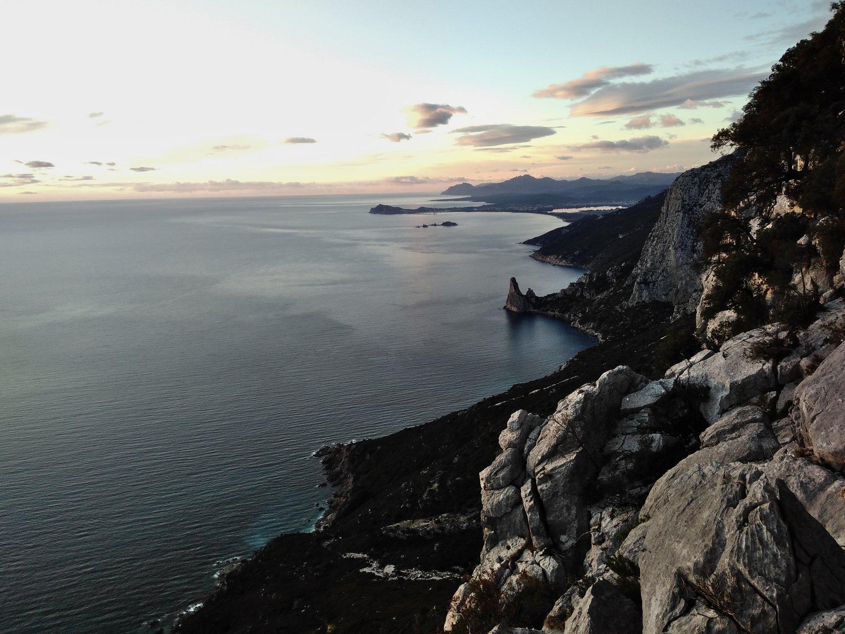Sonnenaufgang bei Pedra Longa
