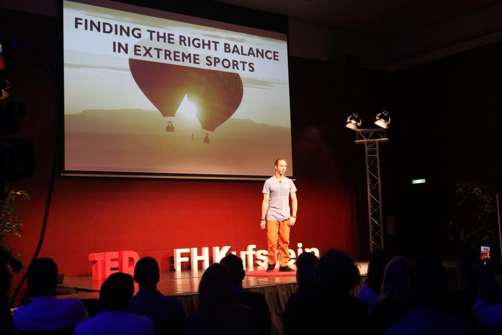 TED Talk Extremsport