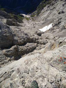 Watzmann Ostwand Wingsuit Exit