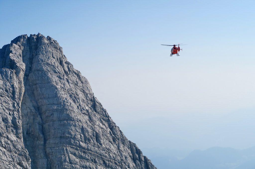 Watzmann Mittelspitze Wingsuit BASE Jump